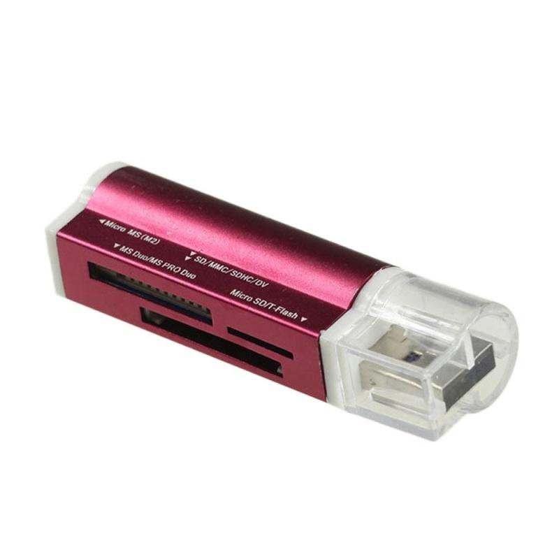 Bảng giá Useful USB2.0 SD/TF/MS Multifunction Memory High Speed Integrated Card Reader - intl Phong Vũ