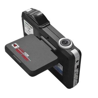 USTORE 2 in 1 Car DVR Radar Dash Cam Laser Video Speed Detector/GPS Car Camera Record Black - intl