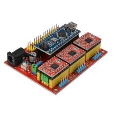 V4 Cnc Mở Rộng Nano 3.0 Ban A4988 Lái Xe 3D Máy In cho Arduino-quốc tế