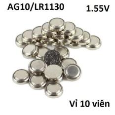 So Sánh Giá Vỉ Pin cúc áo AG10 Alkaline 1.55V dùng cho các thiết bị điện tử… (vỉ 10 viên)