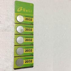 Ở đâu bán Vỉ Pin cúc áo CR2032 Lithium 3V dùng cho các thiết bị điện tử (vỉ 5 viên)