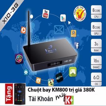 Vinabox X10-3G Ram 3Gb, Rom 16Gb, Chip Amlogic 912 mạnh nhất 2017,kèm chuột bay KM800 - 8827515 , VI551ELAA3MVN6VNAMZ-6459137 , 224_VI551ELAA3MVN6VNAMZ-6459137 , 2640000 , Vinabox-X10-3G-Ram-3Gb-Rom-16Gb-Chip-Amlogic-912-manh-nhat-2017kem-chuot-bay-KM800-224_VI551ELAA3MVN6VNAMZ-6459137 , lazada.vn , Vinabox X10-3G Ram 3Gb, Rom 16Gb, Chi