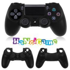 Vỏ bọc silicone tay cầm PlayStation 4 (Đen)