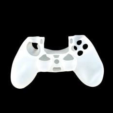Vỏ bọc silicone tay cầm PlayStation 4 (Trắng)