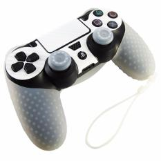 Vỏ bọc silicone thế hệ mới tay cầm PlayStation 4 (Trắng)