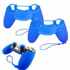 Vỏ bọc silicone thế hệ mới tay cầm PlayStation 4 (Xanh Dương)