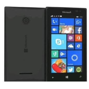 Vỏ nắp lưng đậy pin Nokia Lumia 435 màu đen