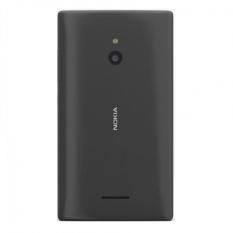 Vỏ nắp lưng đậy pin Nokia Lumia 640XL màu đen