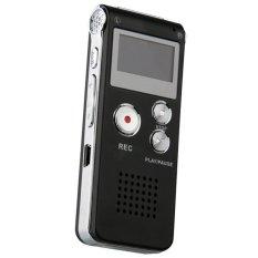 Vococal Mini USB Ghi âm kỹ thuật số 4 gb Dictaphone (Màu đen)