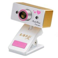 Webcam cho laptop Budebuai TR350 (Vàng)