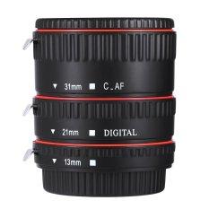 Ống kính mở rộng tự chỉnh tiêu cự dành cho ống kính ỐNG KÍNH Canon EF EF-S, WEIHE 13 mét 21 mét 31 mét (Màu đen)-quốc tế