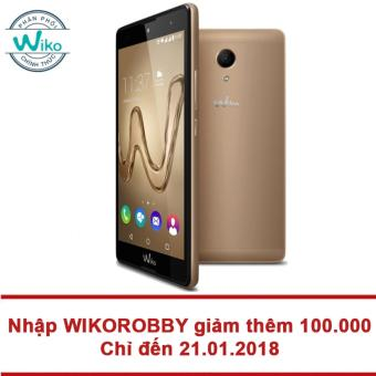 Wiko Robby 16GB RAM 2GB 5.5inch (Vàng) - Hãng phân phối chính thức