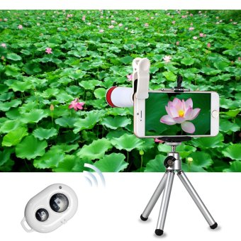 ... XCSource Lens for iPhone Samsung Android 10 Piece Set (White) -intl ...