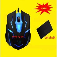 (XEM VIDEO) Chuột chơi game Fz X15 + Tặng miếng lót chuột