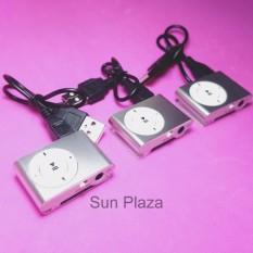 (XEM VIDEO) Máy Nghe Nhạc Mp3 (không kèm tai nghe) – (màu Bạc) Tặng kèm dây sạc Mp3 chất lượng cao Sun Plaza