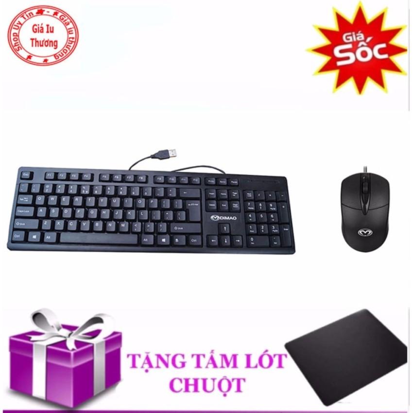 Hình ảnh (XEM VIDEO)Bàn phím máy tính DIMAO+ Tặng chuột USB DIMAO + bàn di chuột