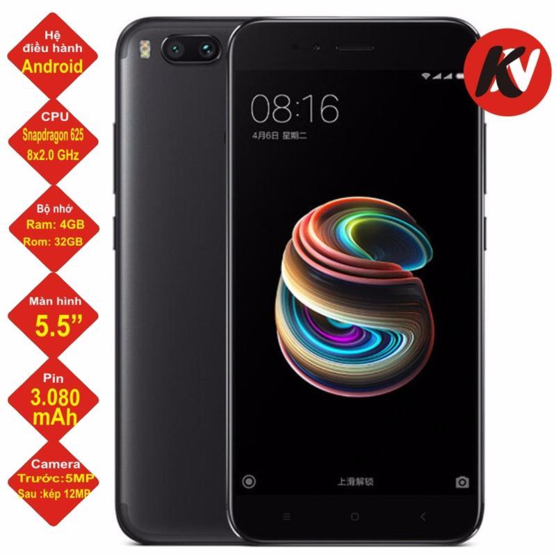 Xiaomi Mi 5X 32GB Ram 4GB 2017 (Đen) - Hàng nhập khẩu