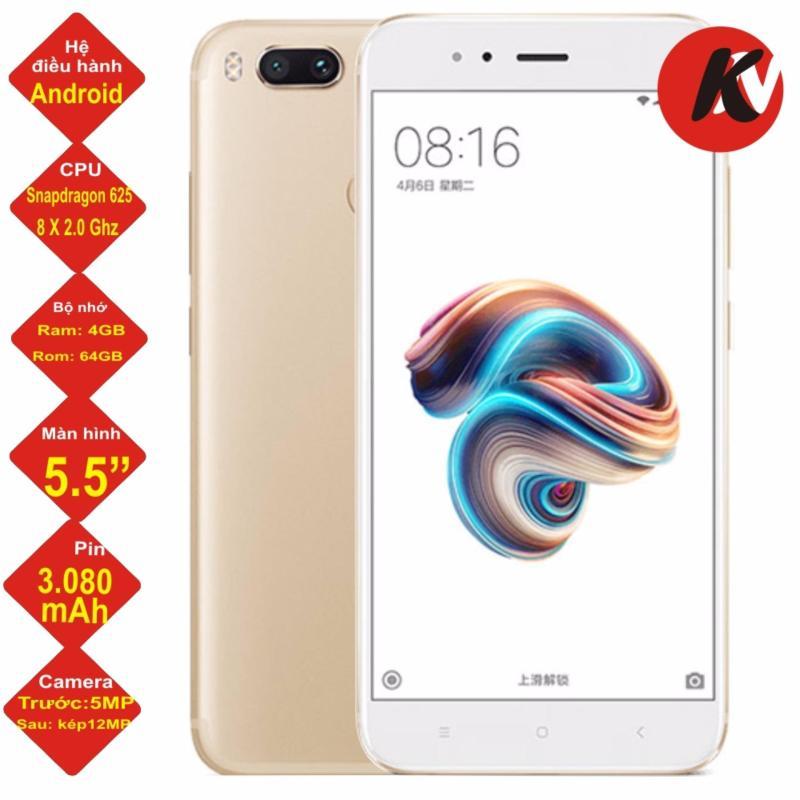 Xiaomi Mi 5X 64GB Ram 4GB 2017 (Vàng) - Hàng nhập khẩu