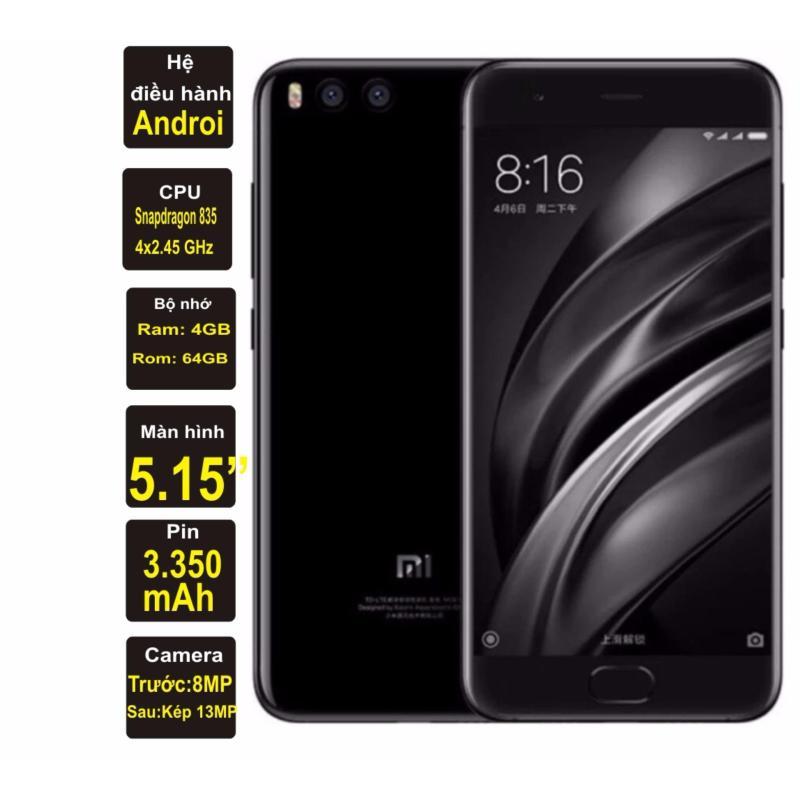 Xiaomi Mi 6 64GB 4GB Ram (Đen) - Hàng nhập khẩu
