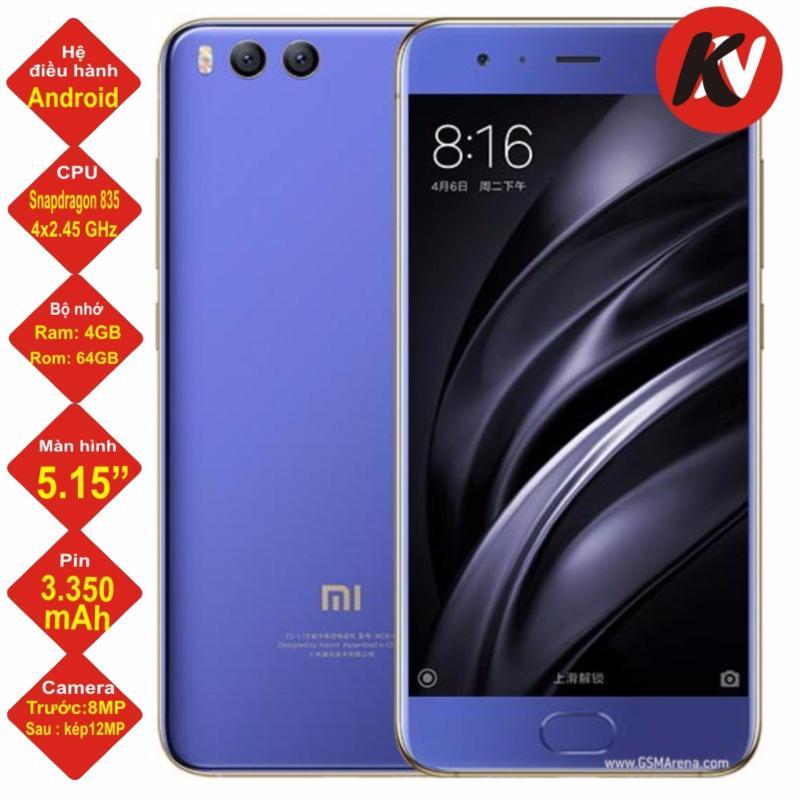 Xiaomi Mi 6 64GB Ram 4GB Khang Nhung (Xanh) - Hàng nhập khẩu