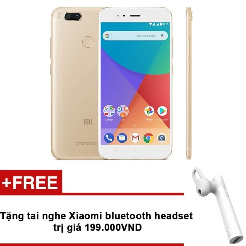 Xiaomi Mi A1 32GB  RAM 4GB Duo Camera (Vàng) + Tặng tai nghe Xiaomi bluetooth headset trị giá 199.000 VNĐ - Hãng phân phối chính thức