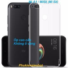 Xiaomi Mi A1 / Mi5X (Mi 5X) Ốp lưng trong suốt chống ố vàng cao cấp