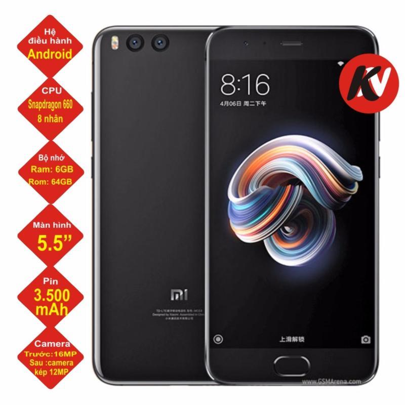 Xiaomi Mi Note 3 64GB Ram 6GB 2017 Khang Nhung (Đen) - Hàng nhập khẩu