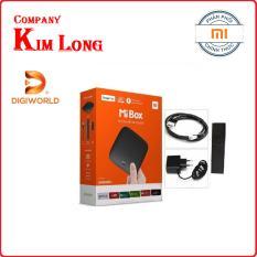 Xiaomi Mibox 4K Android Tivi Box Global Tiếng Việt (Digiwolrd phân phối)