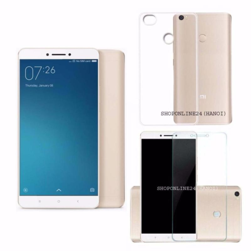 Xiaomi mimax 2 2017- 32GB Ram 4GB (Vàng) + Ốp Lưng + Kính Cường Lực - Hàng Nhập Khẩu