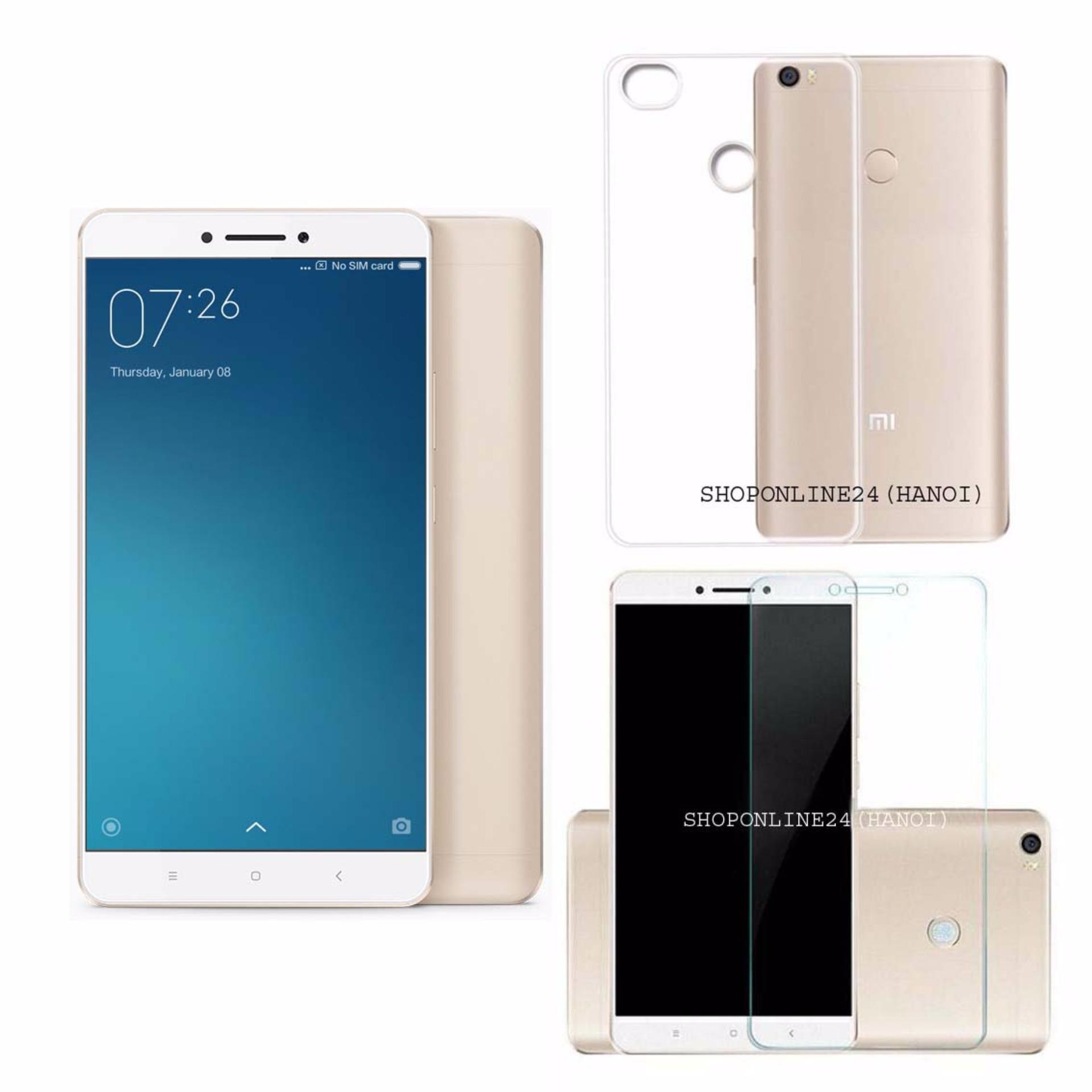 So sánh giá Xiaomi mimax 2 2017- 64GB Ram 4GB (Vàng) + Ốp Lưng + Kính Cường Lực – Hàng Nhập Khẩu Tại Shop Online 24 (Hà Nội)