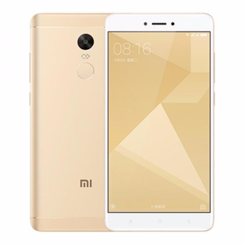 Xiaomi Note 4X 16GB Ram 3GB 2017 (Vàng) - Hàng nhập khẩu