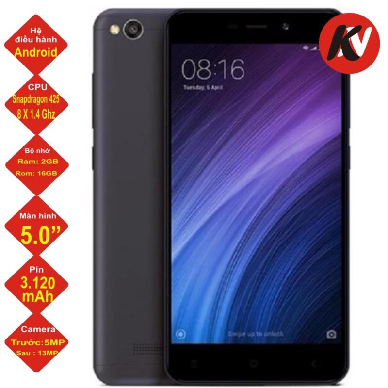 Xiaomi Redmi 4A 16GB Ram 2GB 2017 (Đen) - Hàng nhập khẩu