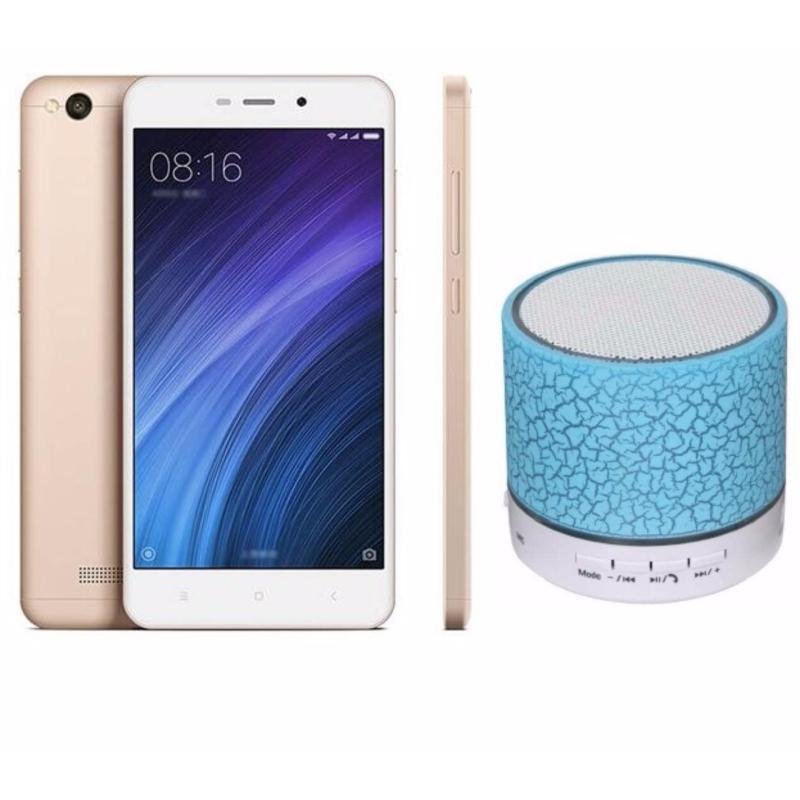 Xiaomi Redmi 4a 16GB (Vàng) + Loa Bluetooth - Hàng Nhập Khẩu