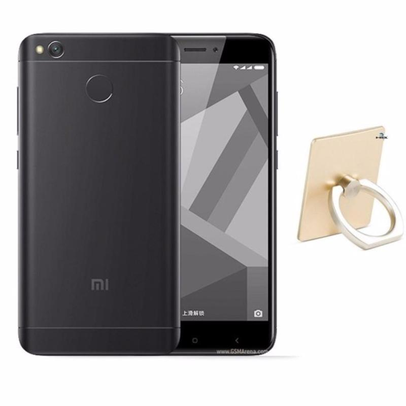 Xiaomi Redmi 4X 16GB (Đen) + Móc giữ điện thoại thông minh  - Hàng nhập khẩu  (Đen 16GB)
