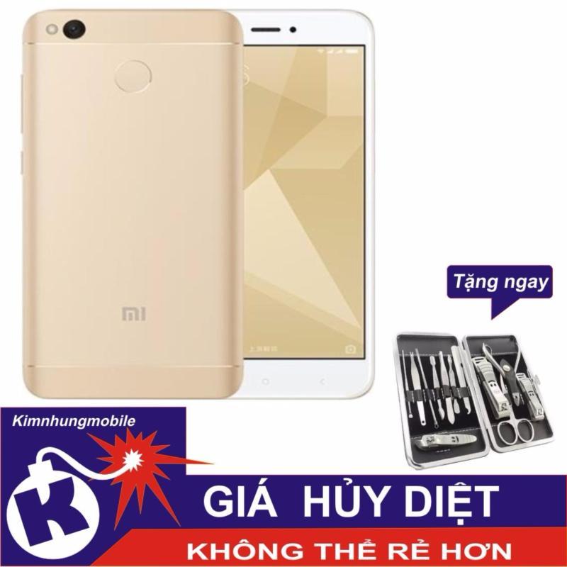 Xiaomi Redmi 4X 16GB (Vàng) - Hàng nhập khẩu + Bộ bấm móng tay