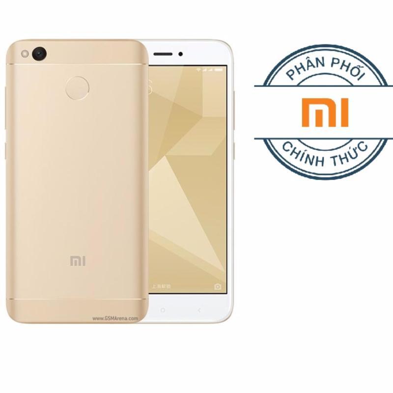 Xiaomi Redmi 4X 32G Ram 3G (Vàng) - Hãng phân phối chính thức