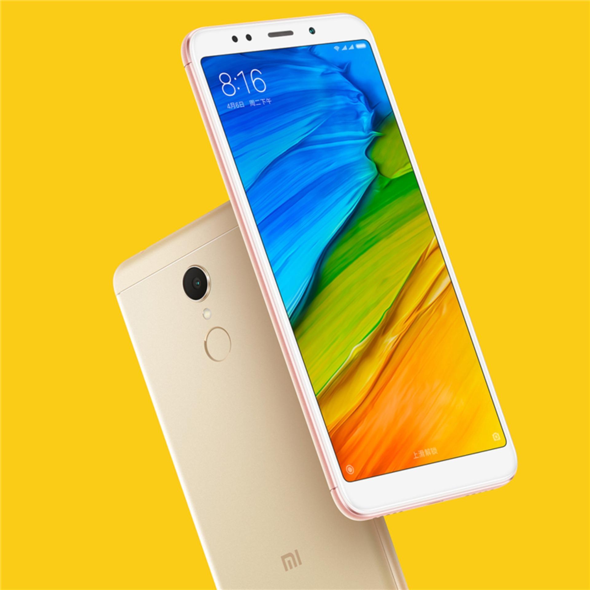 Giá Xiaomi Redmi 5 Plus 32G Ram 3G (Vàng) – Hàng nhập khẩu Tại Shop Online 24 (Hà Nội)