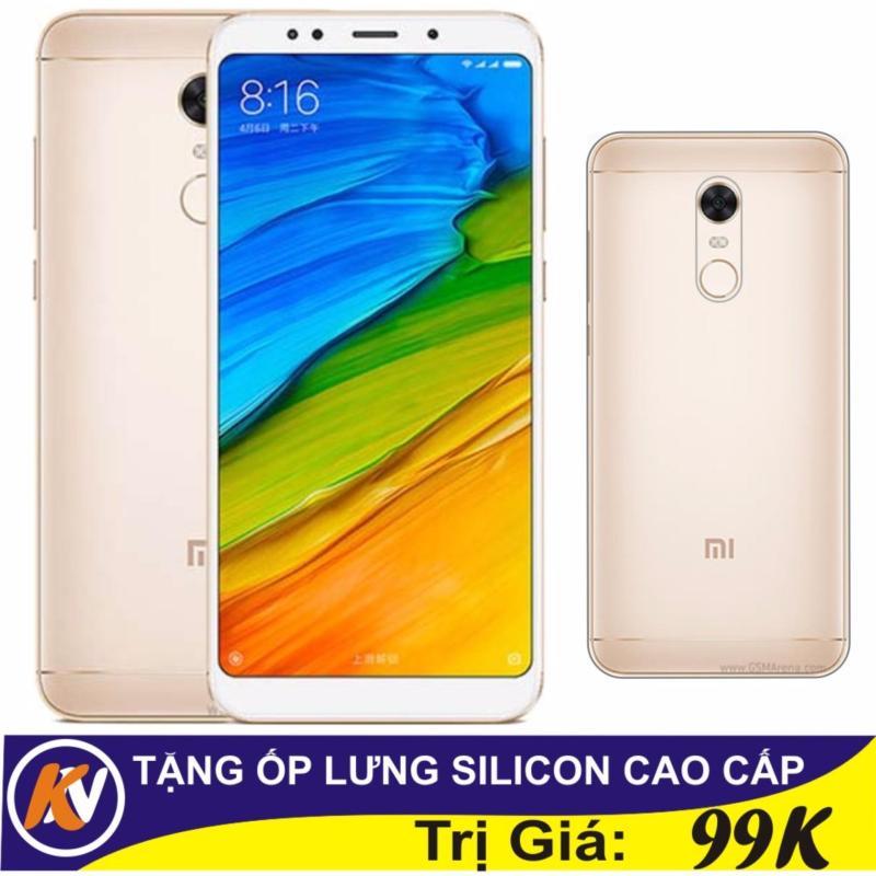Xiaomi Redmi 5 Plus 32GB Ram 3GB Kim Nhung (Vàng) - Hàng nhập khẩu + Ốp lưng silicon