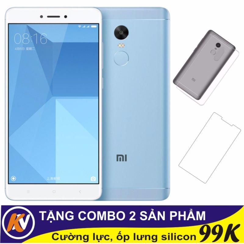 Xiaomi Redmi Note 4x 32GB Ram 3GB Kim Nhung (Light Blue) - Hàng nhập khẩu + Cường lực + Ốp silicon