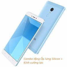 Xiaomi Redmi Note 4X 32GB (Xanh Biển) + Ốp lưng Silicon + Kính cường lực – Hàng nhập khẩu