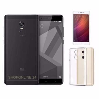 Xiaomi Redmi Note 4X 64Gb 4Gb Ram (Đen nhám) + Ốp Lưng + kính cường lực - Hàng nhập khẩu