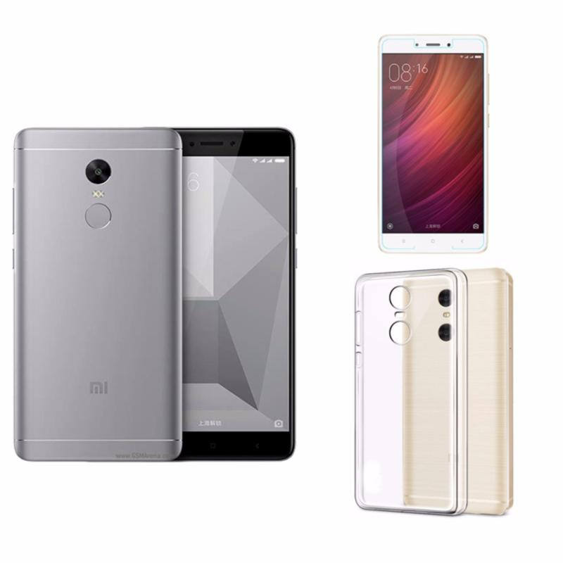 Xiaomi Redmi Note 4X Ram 3GB Rom 32GB (Xám) + Ốp Lưng + Kính Cường Lực - Hàng nhập khẩu