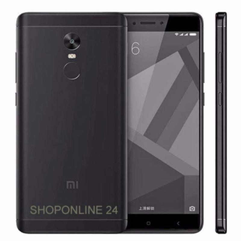 Xiaomi Redmi Note 4X Ram 3GB Rom32GB (Đen Tuyền) - Hàng nhập khẩu