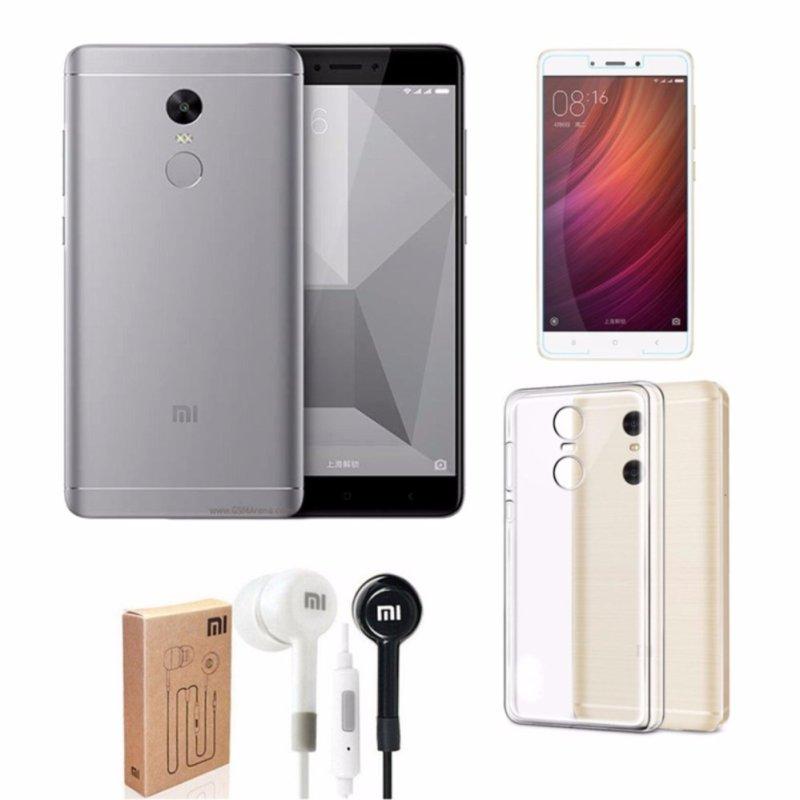 Xiaomi Redmi Note 4X Ram 3GB Rom32GB (Xám) + Ốp Lưng + Kính Cường Lực + Tai Nghe - Hàng nhập khẩu