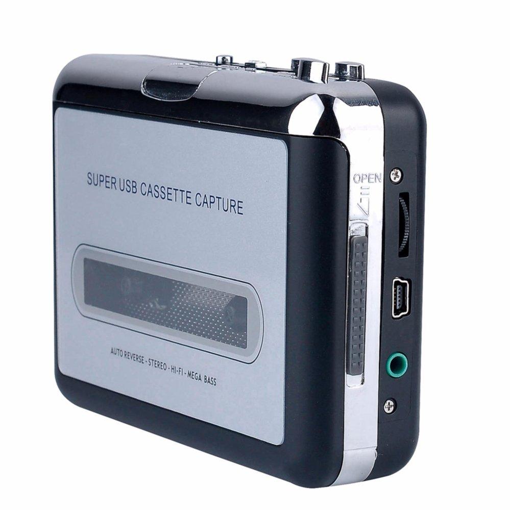 YH Máy Cassette Di Động Thu Băng Chuyển Đổi Sang Mp3, PC USB ezcap218 – Quốc Tế