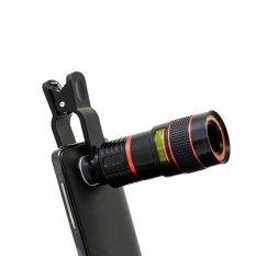 YBC Ống Kính Điện Thoại Phóng To Gấp 8 Lần Kính Thiên Văn Fisheye cho iPhone Samsung Sony Huawei-quốc tế Cực Rẻ Tại Your BestChoice