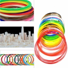 Yika 10m ABS Filament Refills for 3D Printing Drawing Printer Doodle Pen 1.75mm – intl