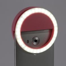 Giá Tốt YOSOO Selfie Di Động Đèn LED Nhẫn Cho IPhone Android Màu Hồng-intl Tại justgogo