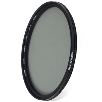 Zomei 67mm Ultra Thin CPL Circular Polarizer Glass Filter Lens(Black) - intl