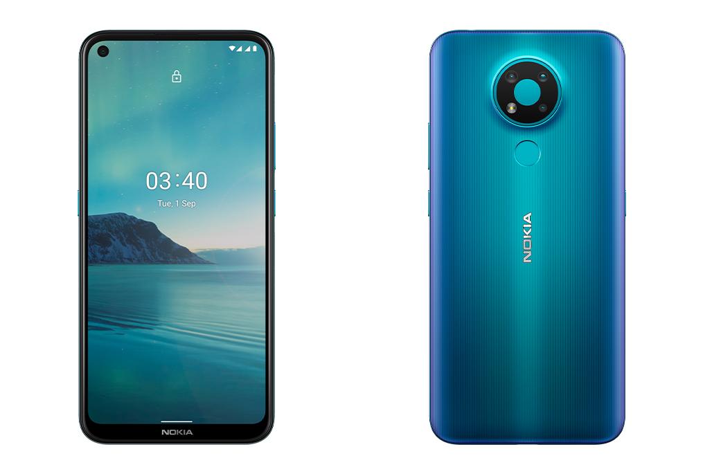 [Nhập ELJAN11giảm 10%, tối đa 200k, đơn từ 99k]Điện thoại Nokia 3.4 (4/64GB) 2 Nano SIM Hỗ trợ 4G Dung lượng pin 4000 mAh Hàng chính hãng Bảo hành 12 tháng